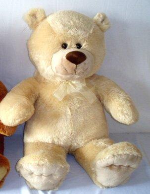 Riesen Teddy Teddybär mit Masche 100 cm groß