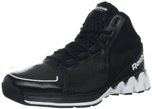 Reebok Men's Zig Kick Hoops Basketball Shoe,Black/White/Blazing Orange,11 M US Reebok Basketball autotags B00AW7HADQ