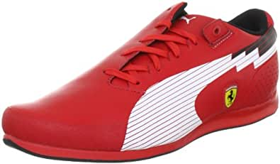 Puma evoSPEED Low SF 304173, Herren Sportive Sneakers, Rot (rosso corsa-white 01), EU 39 (UK 6) (US 7)