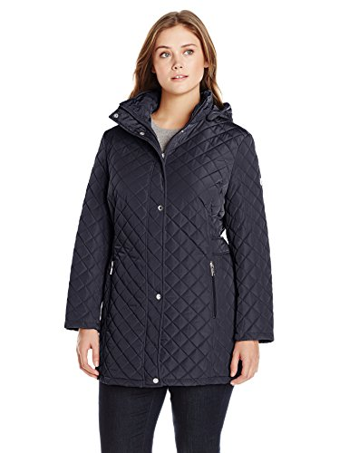 Calvin-Klein-Womens-Classic-Quilted-Jacket-with-Side-Tabs-Plus-Size