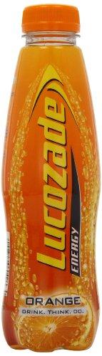 Lucozade Energy Orange Crush Drink (Pack of 12)