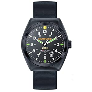 Humvee Men's HMV-W-ZULU Zulu Tritium H3 3 Interchangeable Straps Watch