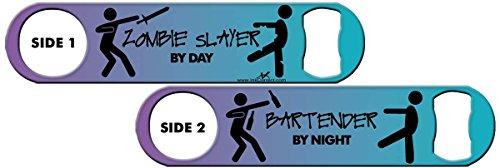 Killer Inked Bottle Opener: Zombie Slayer - Sundown