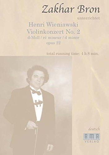 Henri Wieniawski: Violinkonzert No. 2 (German, English, Russian, Spanish, French and Japanese Edition) [Henri Wieniawski] (Tapa Blanda)