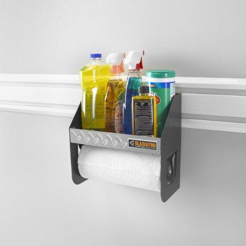 Garage Shelf Rack Caddy Organizer Storage Toilet Wall