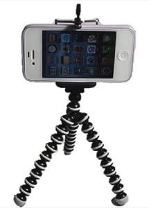 クネクネ 三脚♪ 携帯カメラ スマートフォン IPHONE にも対応 三脚 もちろん カメラ 用三脚 にも使用可能[携帯スタンド]付属 ST-0132