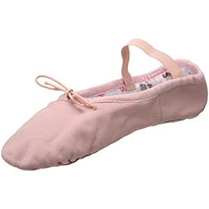Bloch Dance Bunnyhop Slipper Ballet Flat (Toddler/Little Kid/Big Kid),Pink,10 D US Toddler