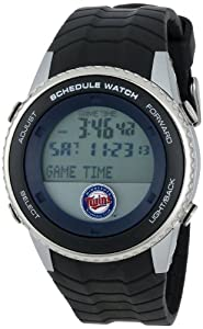 MLB Mens MLB-SW-MIN Schedule Series Minnesota Twins Watch by Game Time