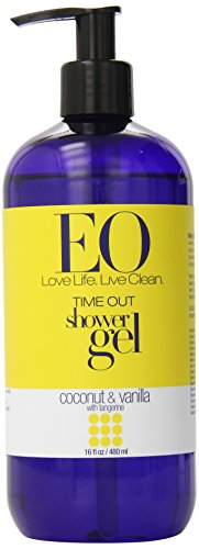 Eo Shower Gel, Coconut And Vanilla With Tangerine, 16 Oz