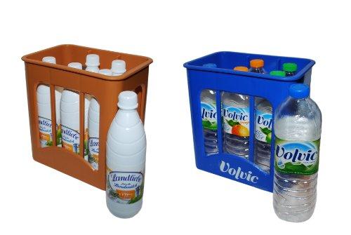 tanner-00726-set-di-bibite-incl-cesta-volvic-e-cesta-di-latte-da-6-bottiglie