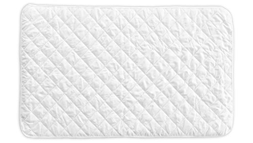 Little One's Pad Pack N Play Crib Mattress Cover - Fits ALL Baby Portable Cribs, Mini & Foldable Mattresses - Waterproof, Dryer Safe & Hypoallergenic - Comfy & Soft Fitted Crib Protector (Baby Mattress Pads compare prices)