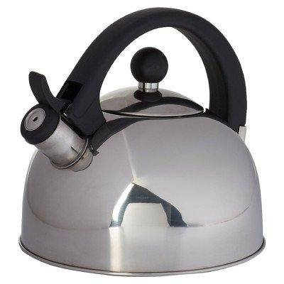 Wayfair Basics 2.64-qt. Stainless Steel Tea Kettle (Ellipse Tea Kettle compare prices)