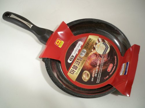 Ceramic Marble Coated Cast Aluminium Non Stick Omelet Fry Pan 20cm (8 inches)