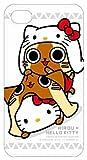 アイルー×ハローキティ iPhone4専用キャラクタージャケット ホワイト SANAR-03B