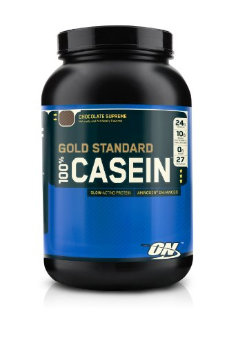 Optimum Nutrition 100% Casein Protein, Chocolate Supreme  2 Pound
