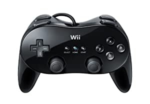 Wii Classic Controller Pro - Black - Nintendo DS Standard Edition