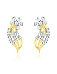 Mahi Gold Plated Earring With CZ For Women ER1103803G