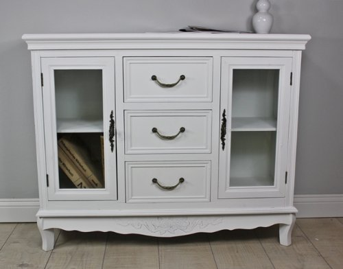 zu verkaufen kommode schrank sideboard wei antik holz landhaus cottage anrichte shabby elbm bel. Black Bedroom Furniture Sets. Home Design Ideas