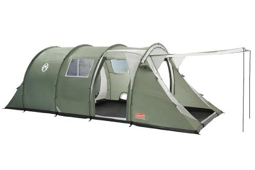 COLEMAN COASTLINE 6 PERSON/MAN DELUXE CAMPING TENT CAMP