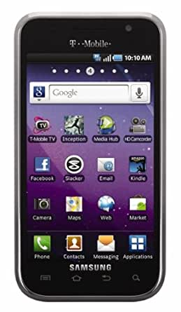 Samsung Galaxy S Vibrant, Black (T-Mobile)