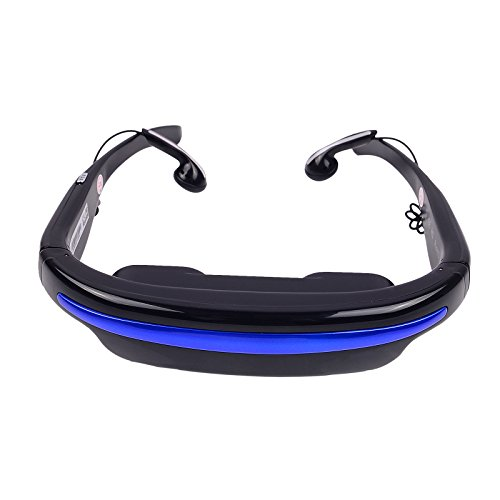 Video Virtual Reality Glasses Widescreen Stereo Personal Theater 4Gb Support For Tf Card/ Tv Box/ Psp/Dvd/Mp4/Mp5/Ps2/Xbox (50-Inch 4:3 Widescreen)