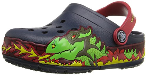 crocs-Kids-CrocsLights-Fire-Dragon-Light-Up-Clog-InfantToddlerLittle-KidBig-Kid