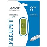Lexar JumpDrive S70 8 GB USB Flash Drive LJDS70-8GBASBNA - Green