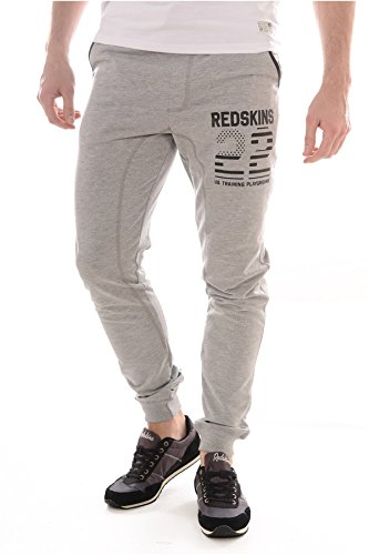 Redskins -  Pantaloni sportivi  - Uomo grigio 38