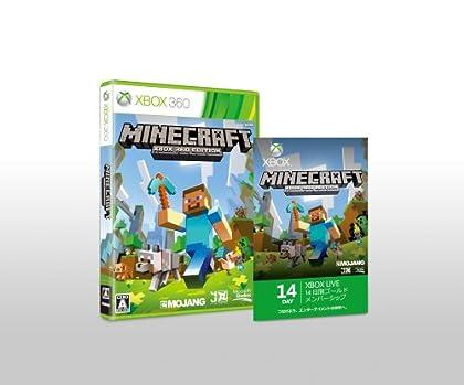 Minecraft: Xbox 360 Edition(14日間ゴールドメンバーシップ同梱)