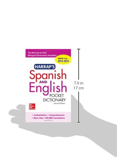 Harrap's Spanish and English Pocket Dictionary (Harrap's Dictionaries)