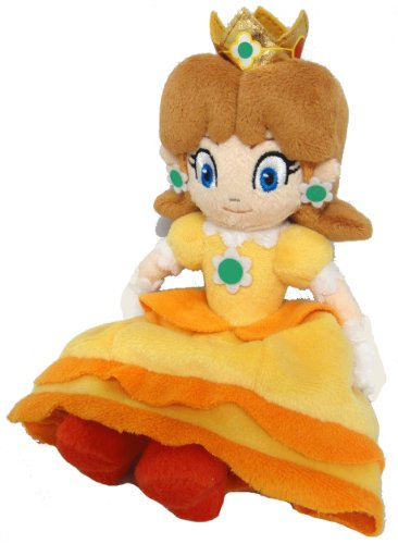 Sanei Super Mario Princess Daisy Plush Doll - 1