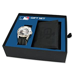 Mens MLB San Francisco Giants Watch & Wallet Set