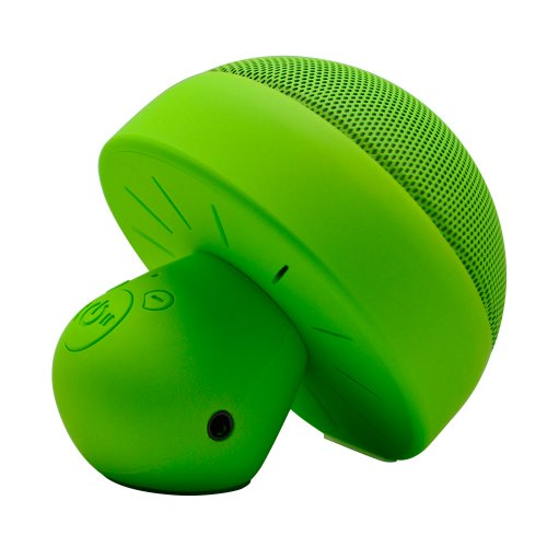 Kinglake New Mushroom Mini Portable Bluetooth 3.0 Speaker Enhanced Bass With Rechargeable Battery And Blue Led Lights, Supprot Hand-Free Function ,Have Clear And Crisp Sounds On The Phone Or In Car ,Quickly Pairs With Iphone, Android, Blackberry, Ipad, Ta