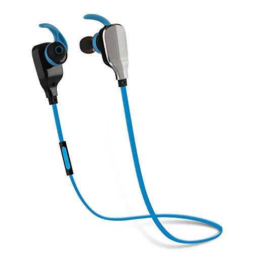 Q-YEE Bluetooth Headphones with Mic Wireless Earbud Bluetooth Headset In-ear with Noise Cancelling Sweatproof Sport  Earphones