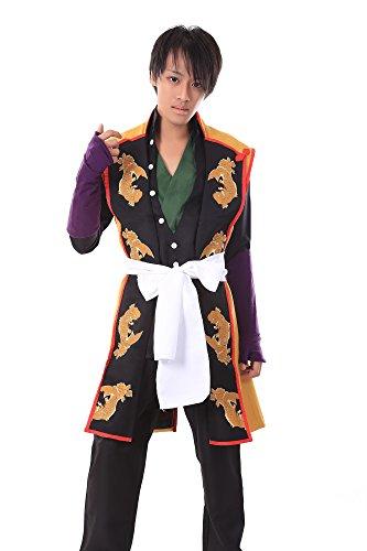 [SDWKIT Hakuouki Shinsengumi Kitan Cosplay Costume Okita Souji 1st Ver Set L] (Okita Souji Cosplay Costume)