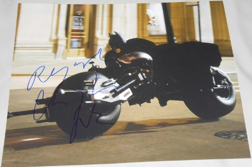 CHRISTIAN BALE - The Dark Knight AUTOGRAPH Signed 11x14 Photo