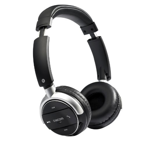Patuoxun Bluetooth Noise-Cancellation Stereo Headphone with Aptx for Music Stream & HandsFree Calling w/ 15 hrs Extended Talk and Playback Time, 200 hrs Standy time, Built-in Mic, A2DP, AVRCP Patuoxun Bluetooth Headsets autotags B00IF3VO2W
