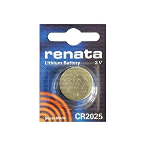 renata CR2025 LITHIUM BATTERY 3V