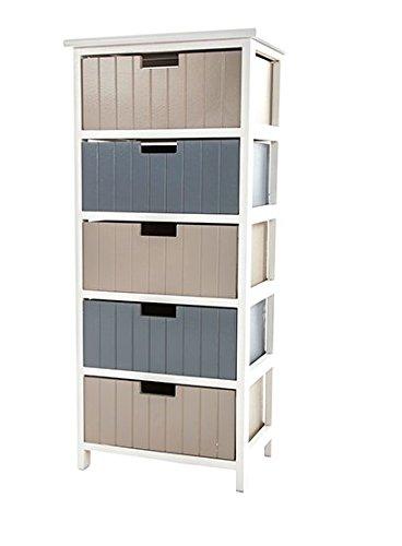 5081947001782 chambre 5 tiroirs rangement meuble salle de bain - Meuble Tiroirs Rangement Salle De Bain