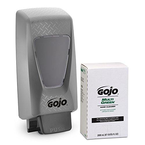 gojo-7265-d2-pro-tdx-multi-green-hand-cleaner-and-dispenser-starter-kit