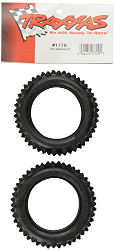 Traxxas 1770 Spiked Tire 2.15, Rear, 2-Piece, Bandit