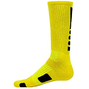 Red Lion Legend Athletic Socks (Neon Yellow / Black - Small)