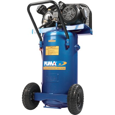 Puma Air Compressor Puma Oil Lube Belt Drive Single Stage