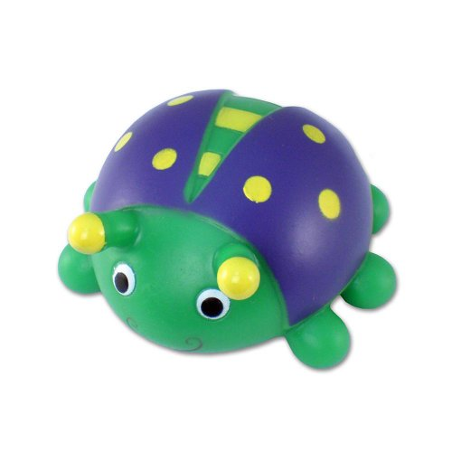 Puzzled Bath Buddy Lady Bug Water Squirter