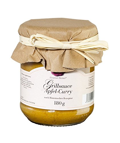 Gourmet Berner Grillsauce Apfel-Curry 180g