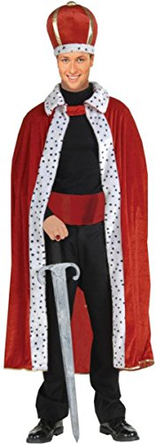 Morris Costumes Halloween Party King Robe And Crown Adult