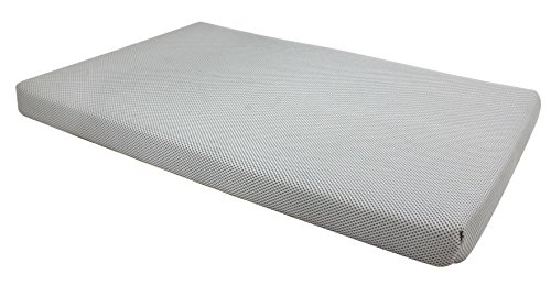 RESTOLOGY Mesh Cool Gel Memory Foam Orthopedic Mat, 29 x 19 x 2″, Gray