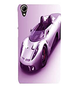 printtech Superfast car Back Case Cover for HTC Desire 828 dual sim