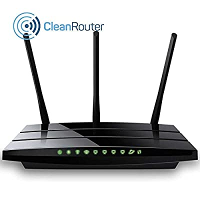 CLEAN ROUTER PRO - The Wireless 802.11ac (WiFi) Router that automatically blocks Internet Porn.