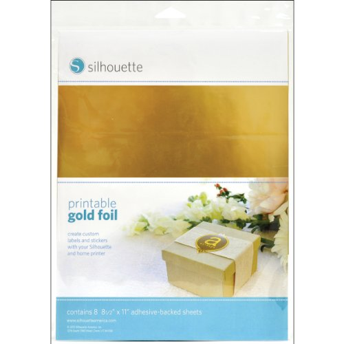 Silhouette Printable Gold Foil (Golden Ticket compare prices)